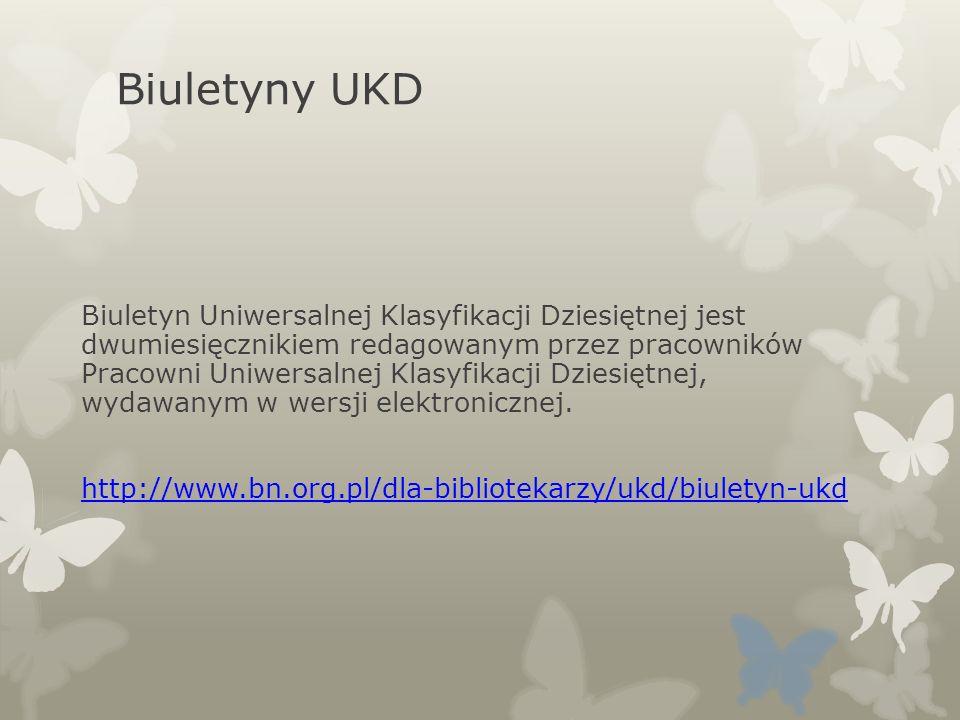 Biuletyny UKD