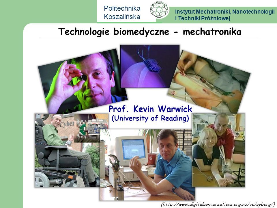Technologie biomedyczne - mechatronika (University of Reading)