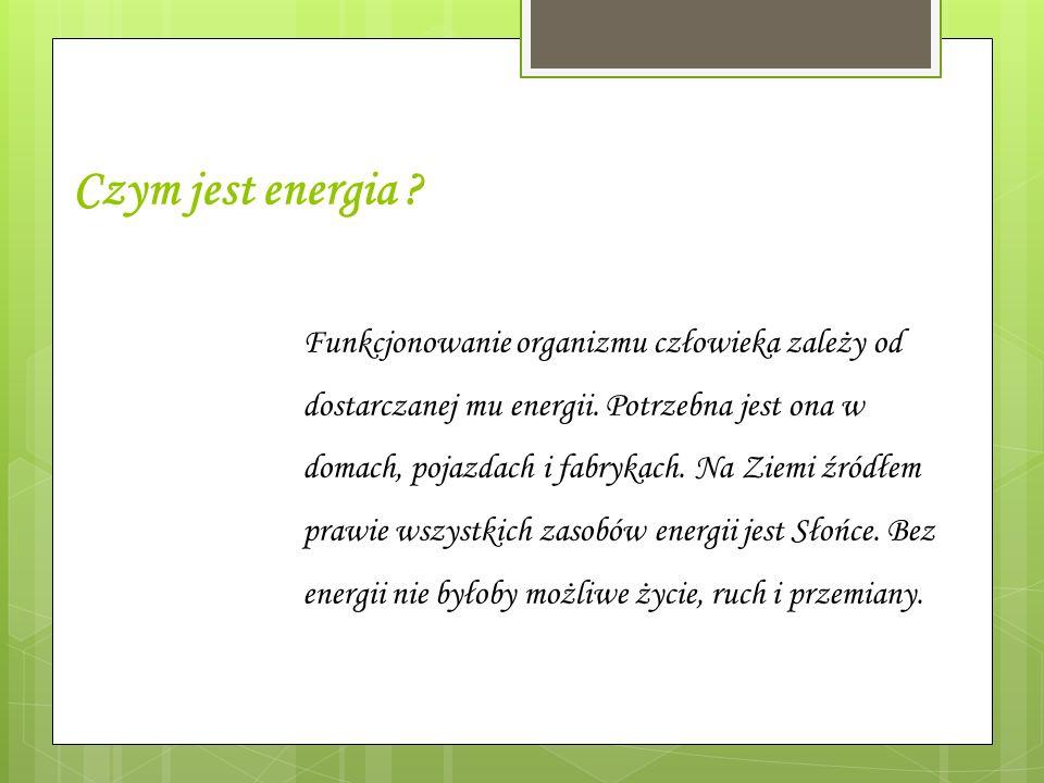 Czym jest energia