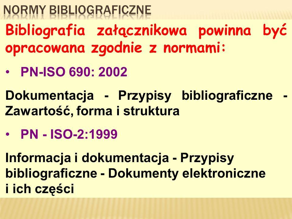 Normy bibliograficzne