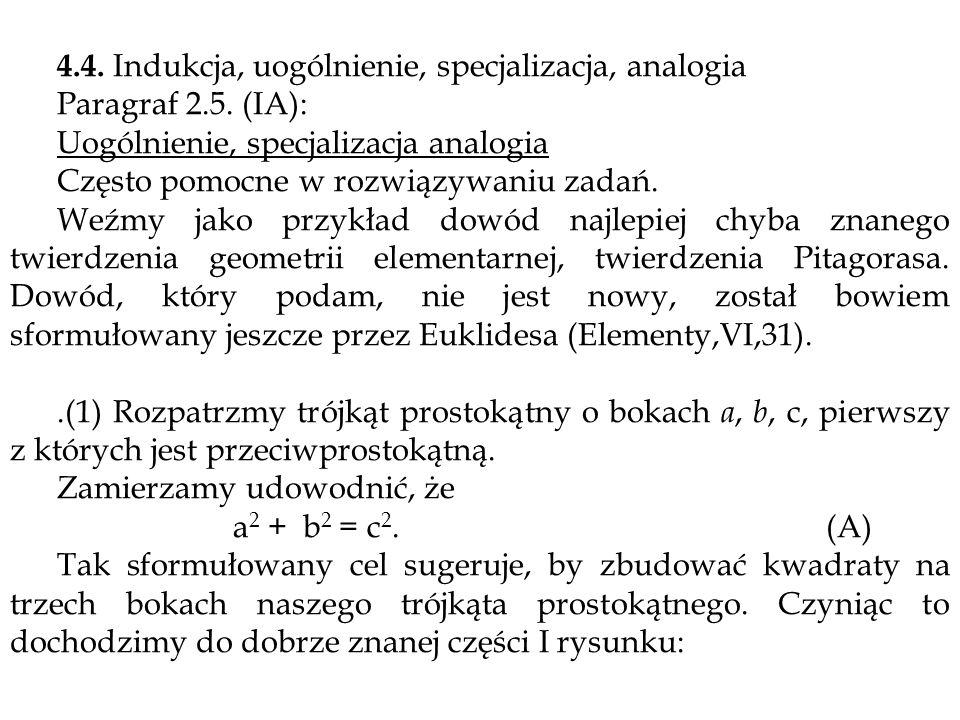 4.4. Indukcja, uogólnienie, specjalizacja, analogia