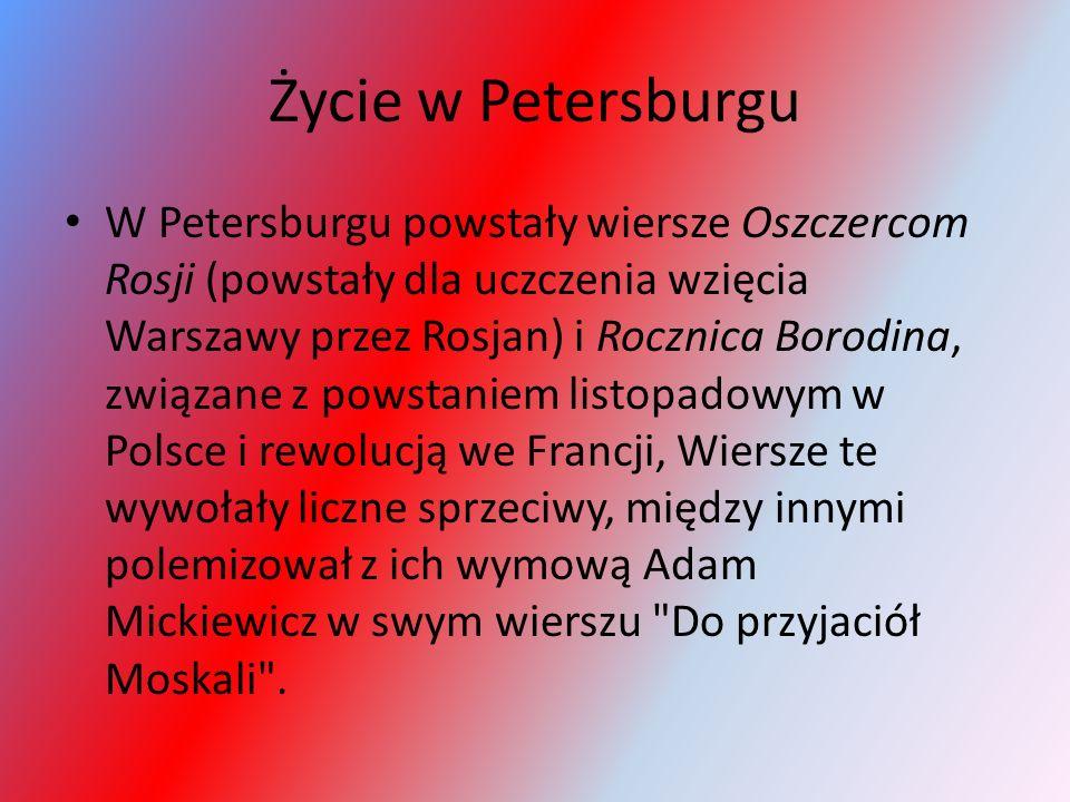 Życie w Petersburgu