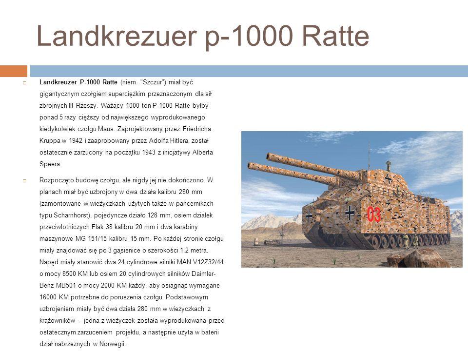 Landkrezuer p-1000 Ratte