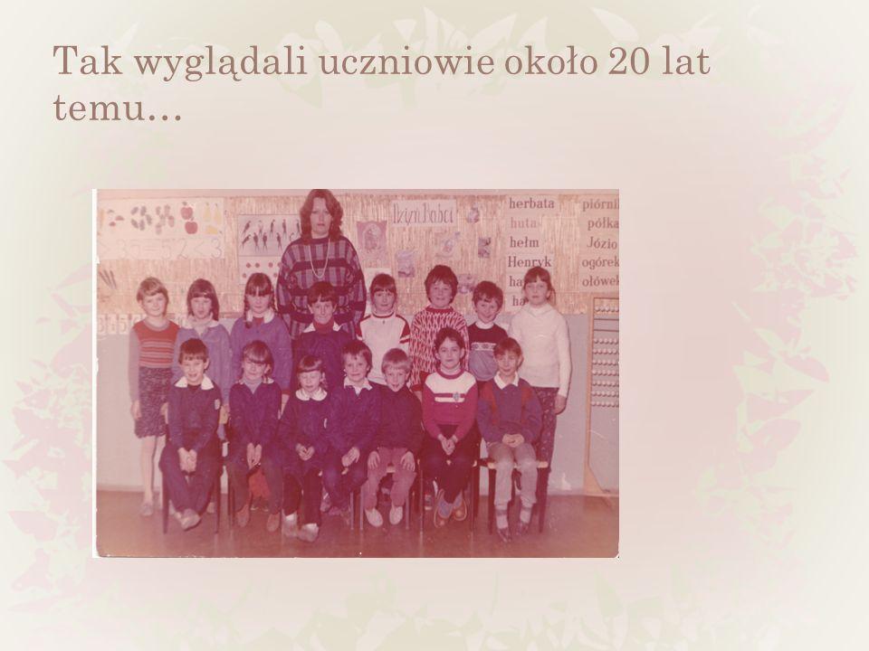 Tak wyglądali uczniowie około 20 lat temu…