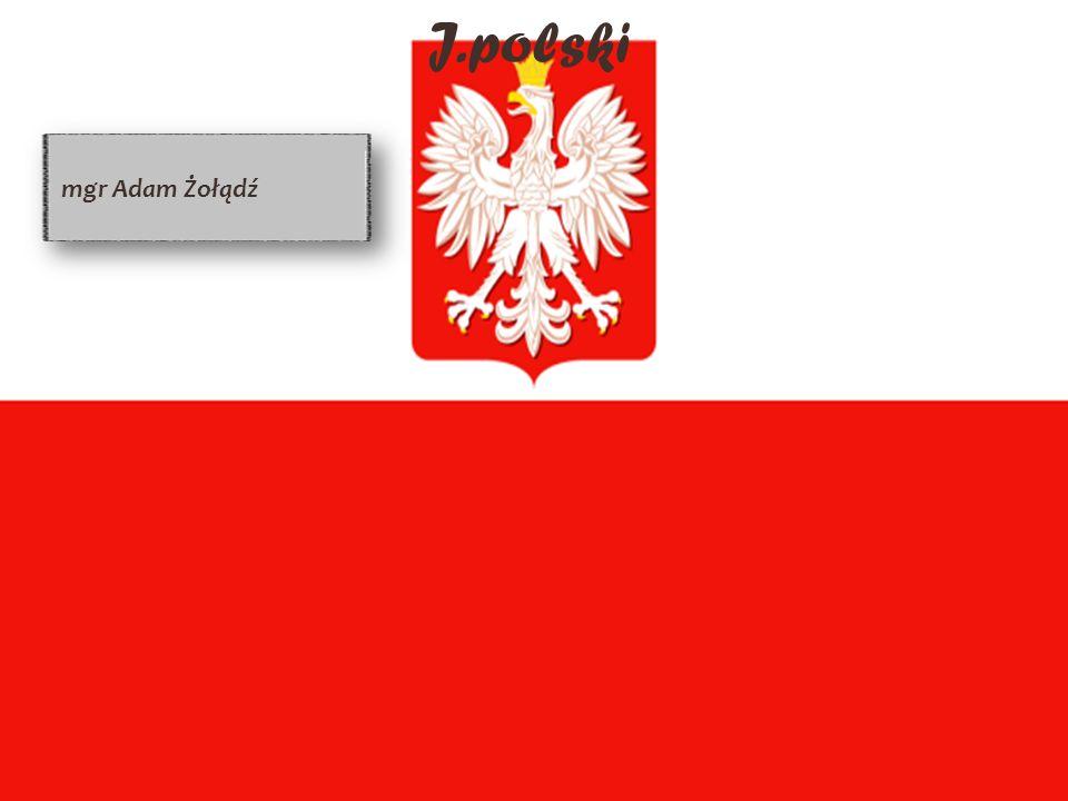 J.polski mgr Adam Żołądź
