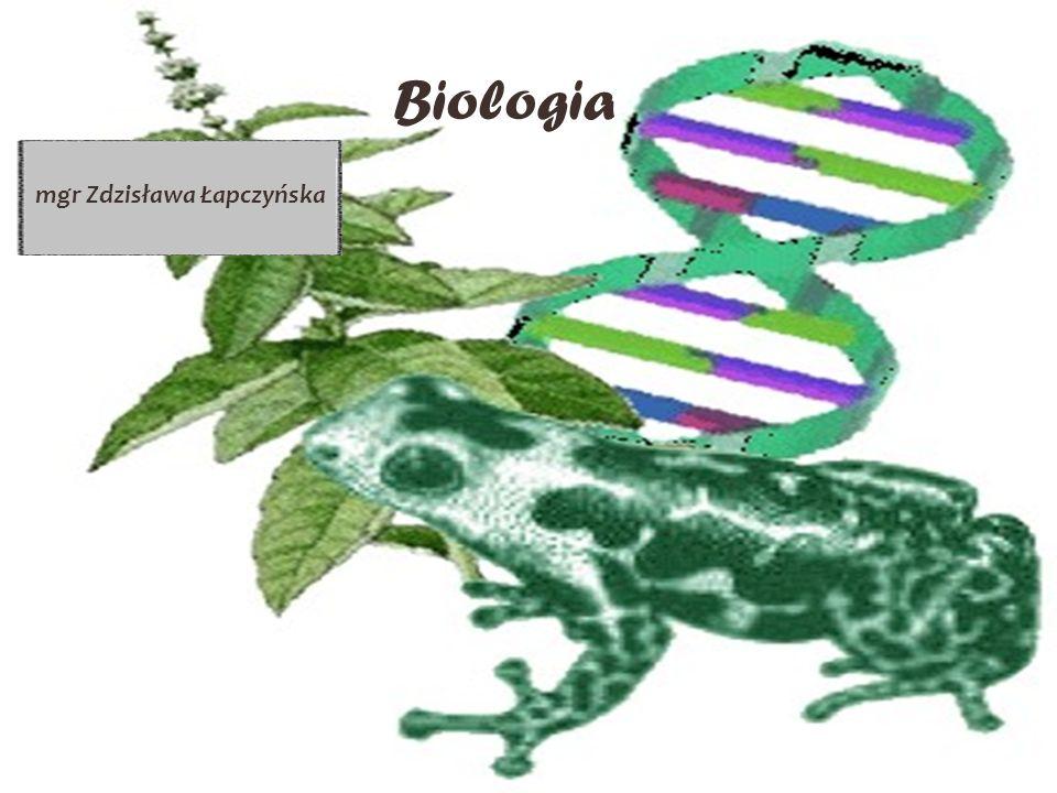 Biologia mgr Zdzisława Łapczyńska