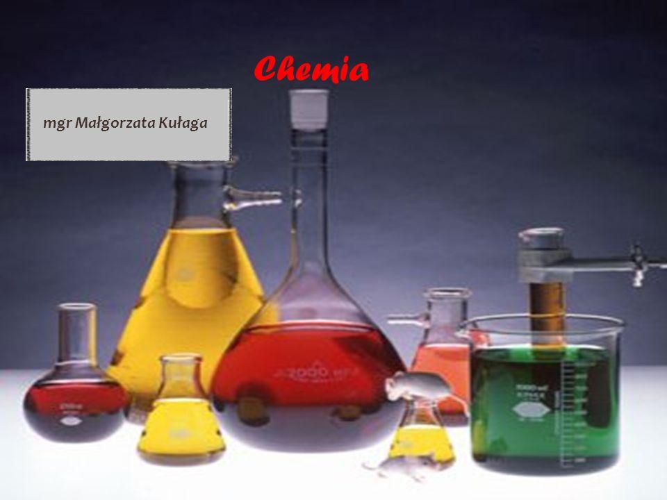 Chemia mgr Małgorzata Kułaga