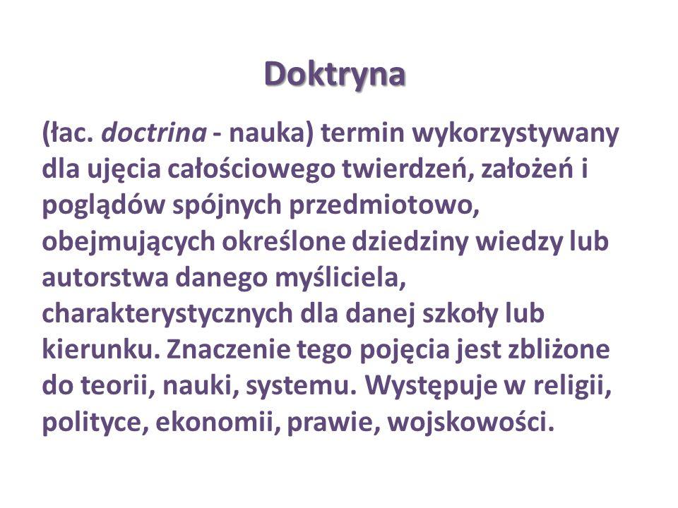 Doktryna