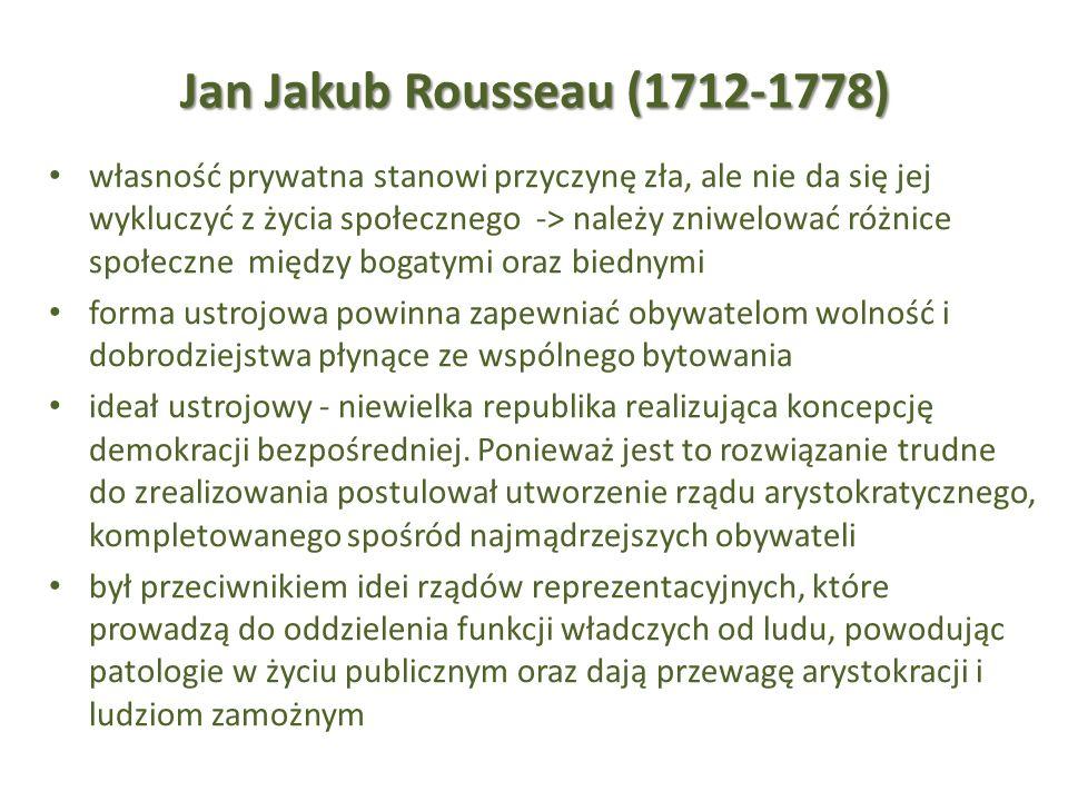 Jan Jakub Rousseau (1712-1778)