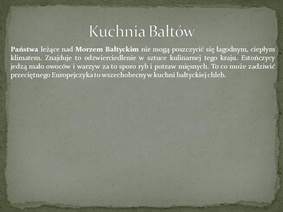 Kuchnia Bałtów