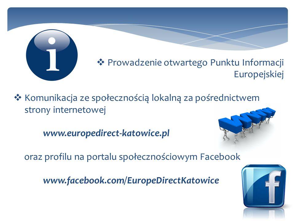 Prowadzenie otwartego Punktu Informacji Europejskiej