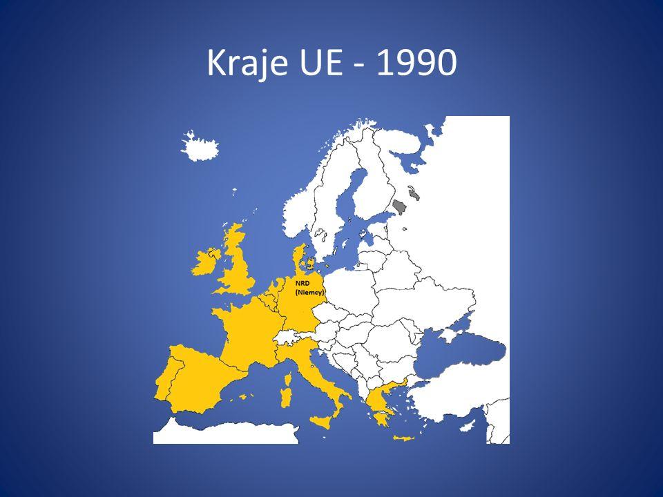 Kraje UE - 1990