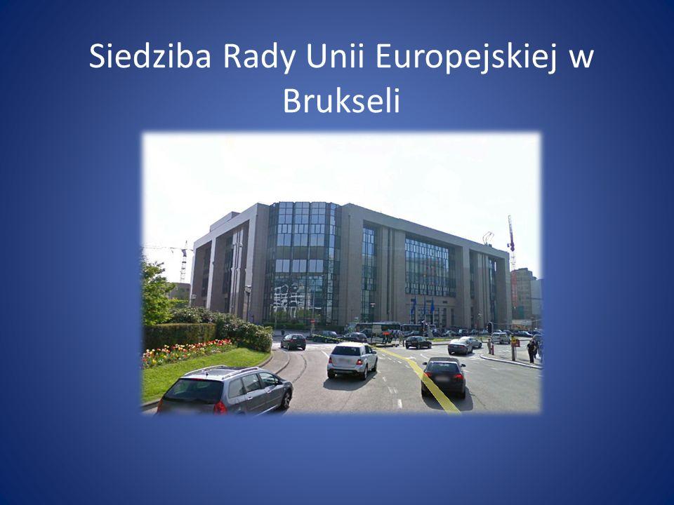 Siedziba Rady Unii Europejskiej w Brukseli