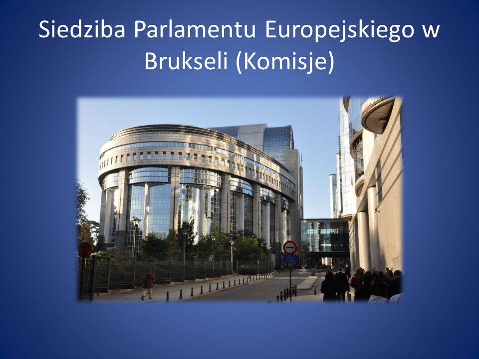 Siedziba Parlamentu Europejskiego w Brukseli (Komisje)
