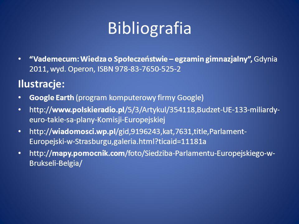 Bibliografia Ilustracje:
