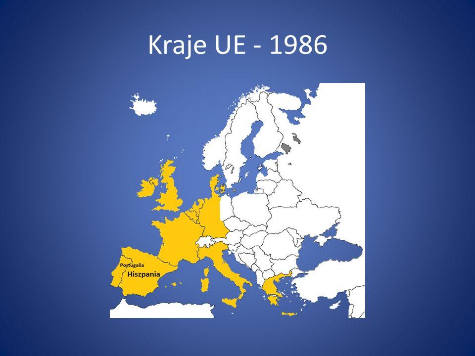 Kraje UE - 1986