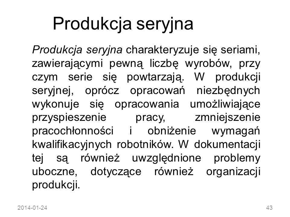 Produkcja seryjna