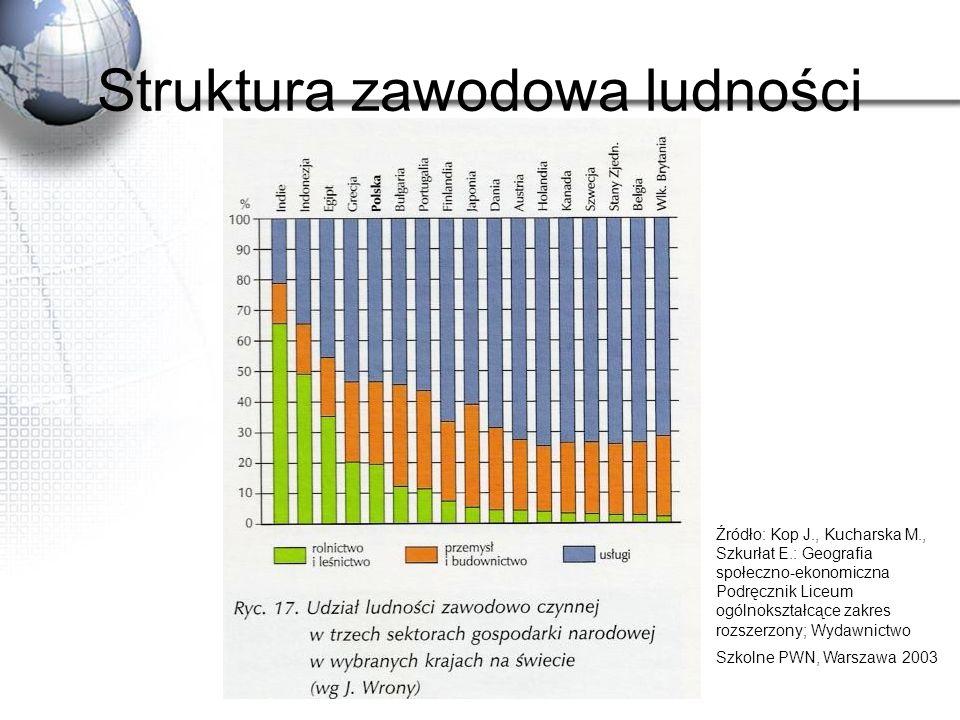 Struktura zawodowa ludności