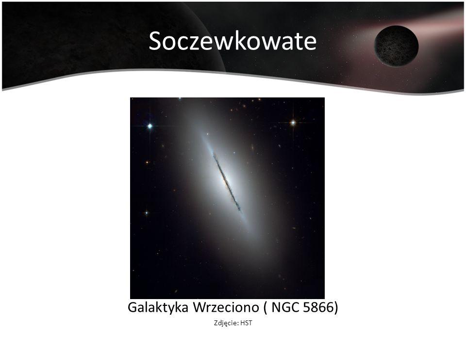 Galaktyka Wrzeciono ( NGC 5866)