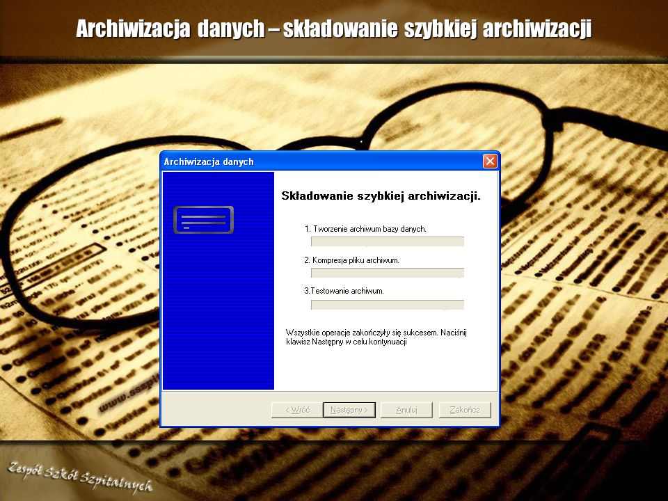 Archiwizacja danych – składowanie szybkiej archiwizacji