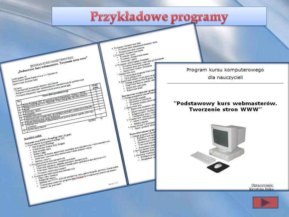 Przykładowe programy