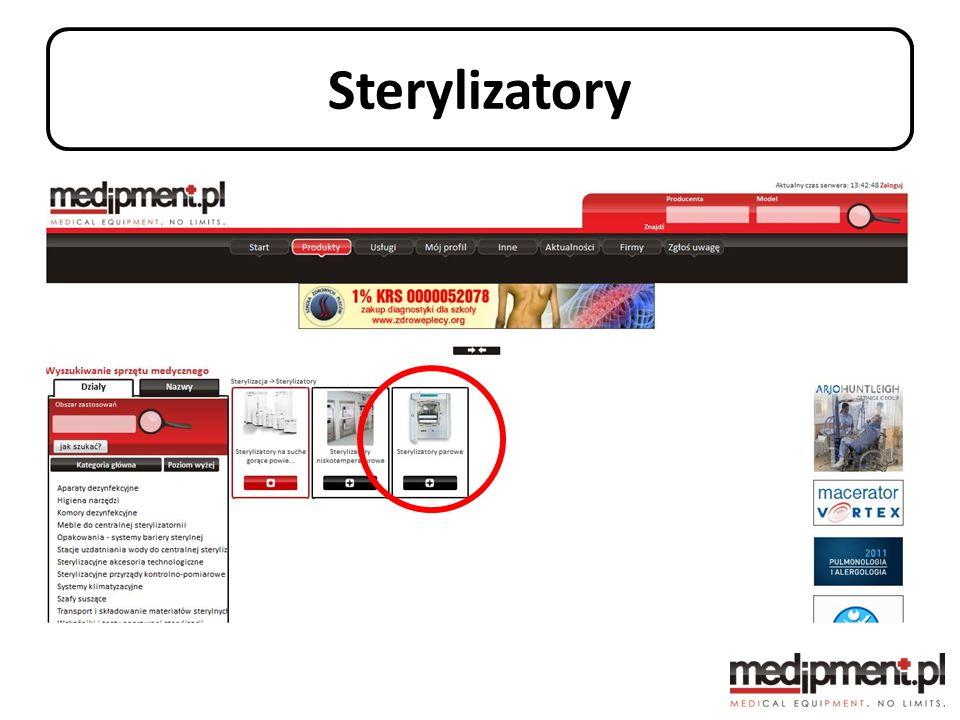 Sterylizatory