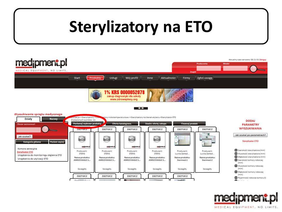 Sterylizatory na ETO