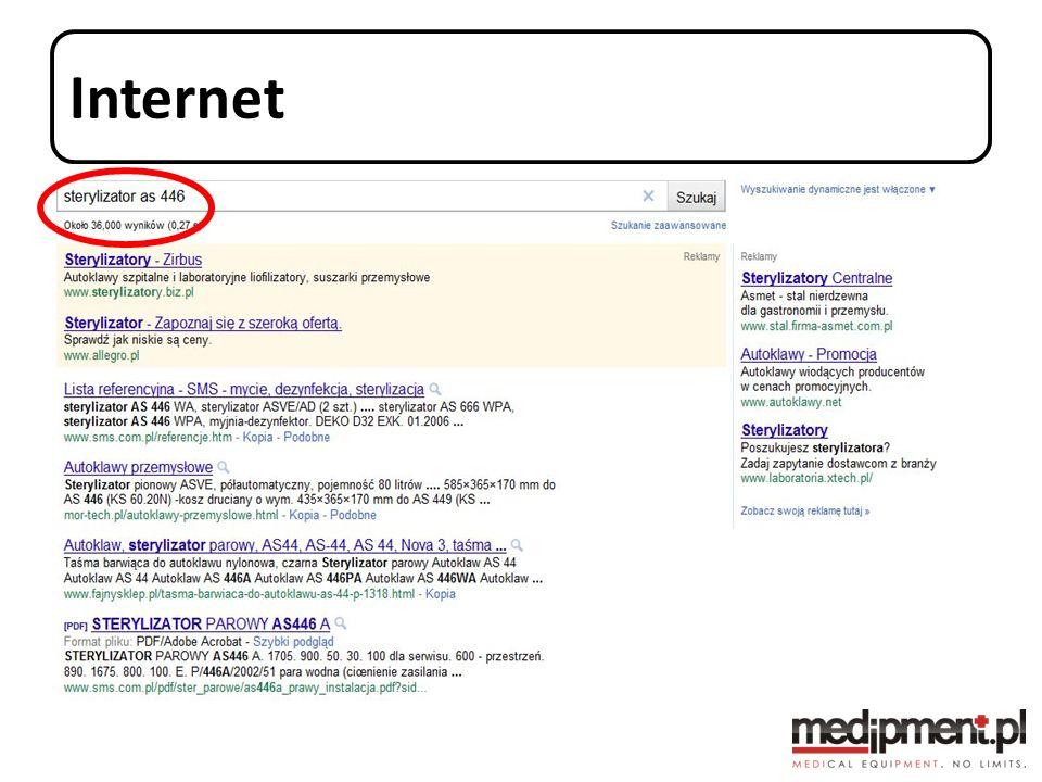 Internet Wszystkie dane są w internecie. Jakie to dane