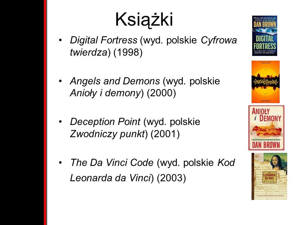 Książki Digital Fortress (wyd. polskie Cyfrowa twierdza) (1998)