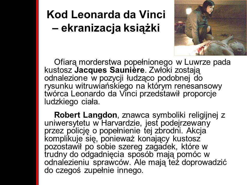 Kod Leonarda da Vinci – ekranizacja książki