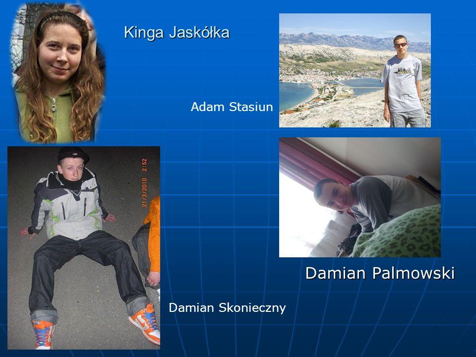 Kinga Jaskółka Adam Stasiun Damian Palmowski Damian Skonieczny