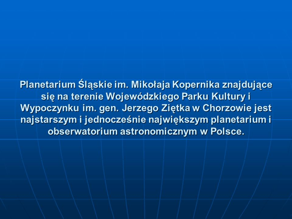 Planetarium Śląskie im