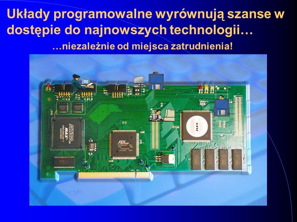 Układy programowalne wyrównują szanse w dostępie do najnowszych technologii…