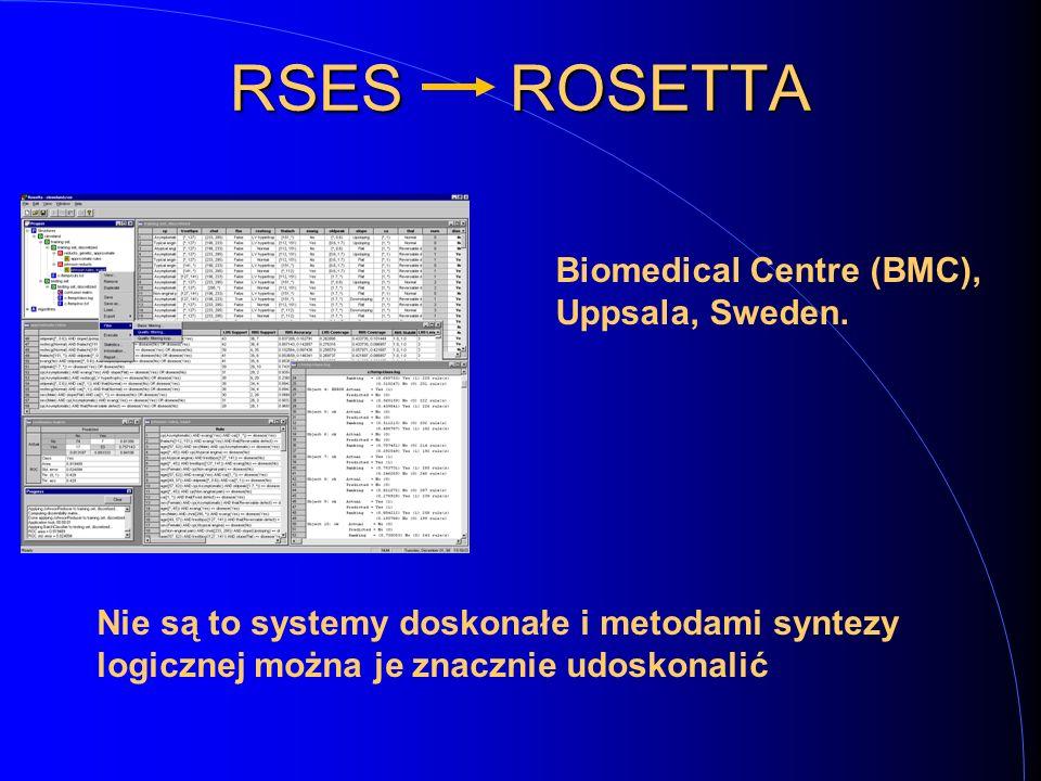 RSES ROSETTA Biomedical Centre (BMC), Uppsala, Sweden.