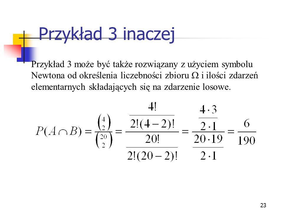 Przykład 3 inaczej