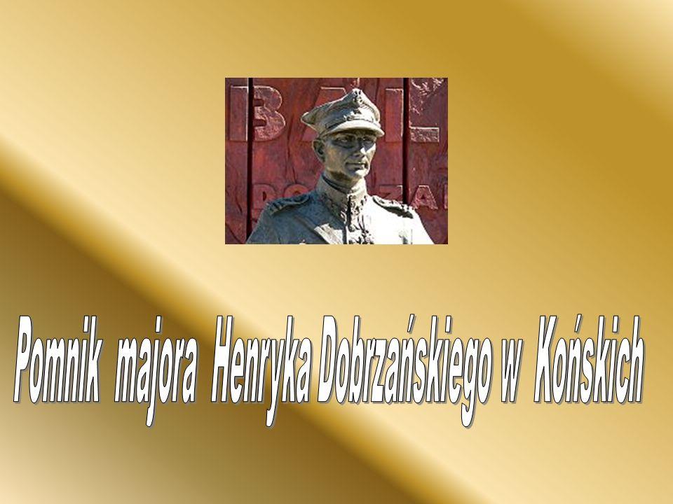 Pomnik majora Henryka Dobrzańskiego w Końskich