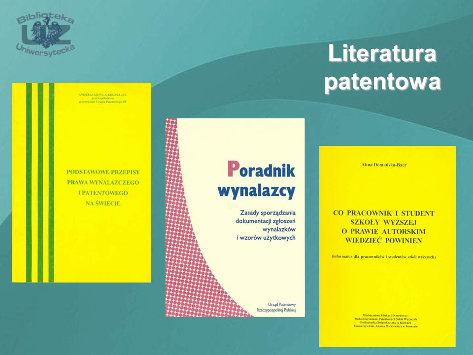 Literatura patentowa