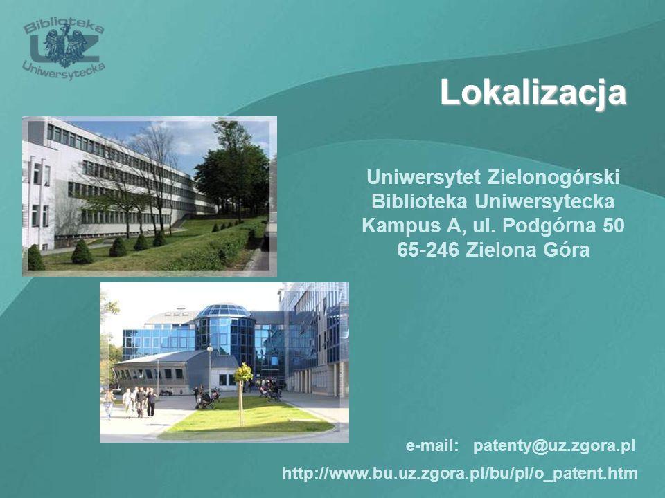 Uniwersytet Zielonogórski Biblioteka Uniwersytecka