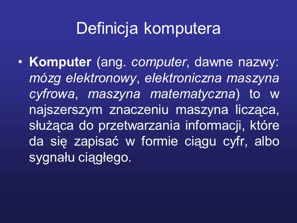 Definicja komputera