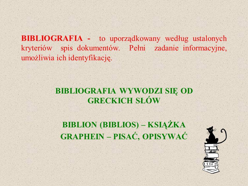 BIBLION (BIBLIOS) – KSIĄŻKA GRAPHEIN – PISAĆ, OPISYWAĆ