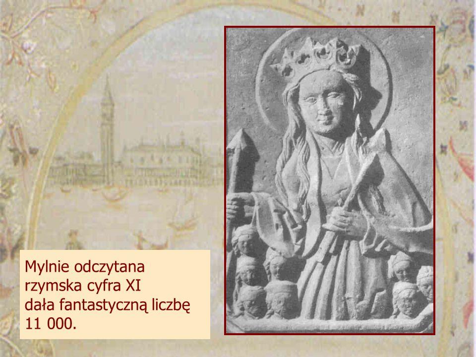 Mylnie odczytana rzymska cyfra XI dała fantastyczną liczbę 11 000.