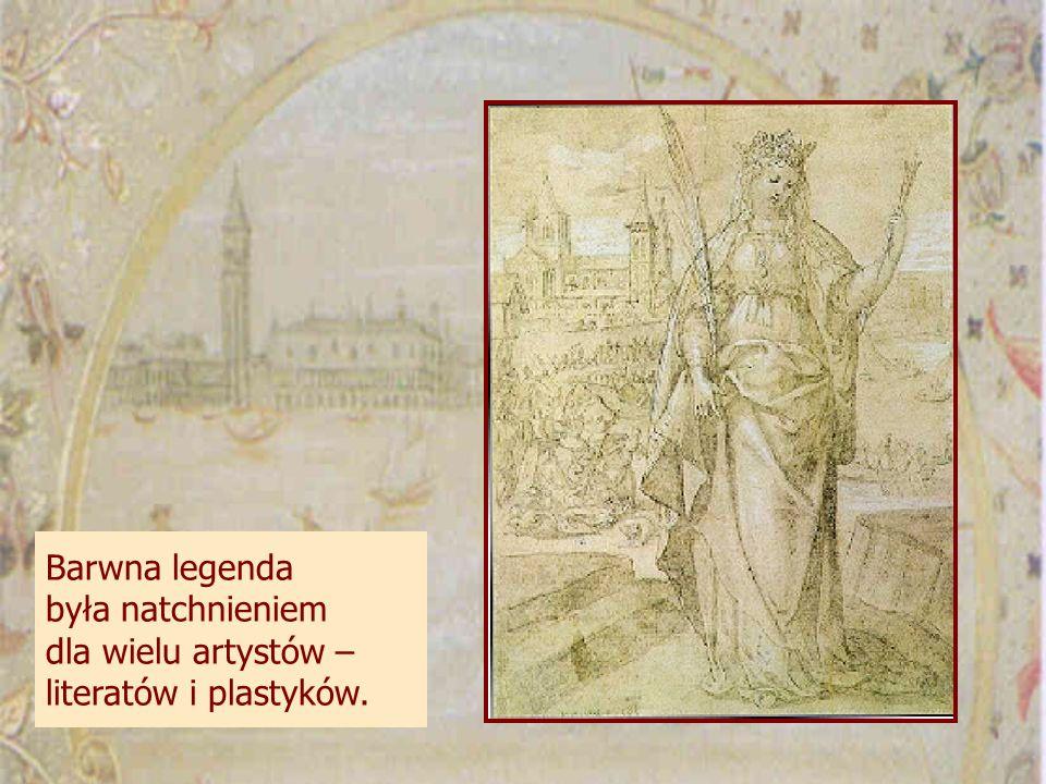 Barwna legenda była natchnieniem dla wielu artystów – literatów i plastyków.