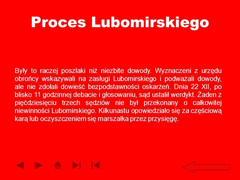 Proces Lubomirskiego