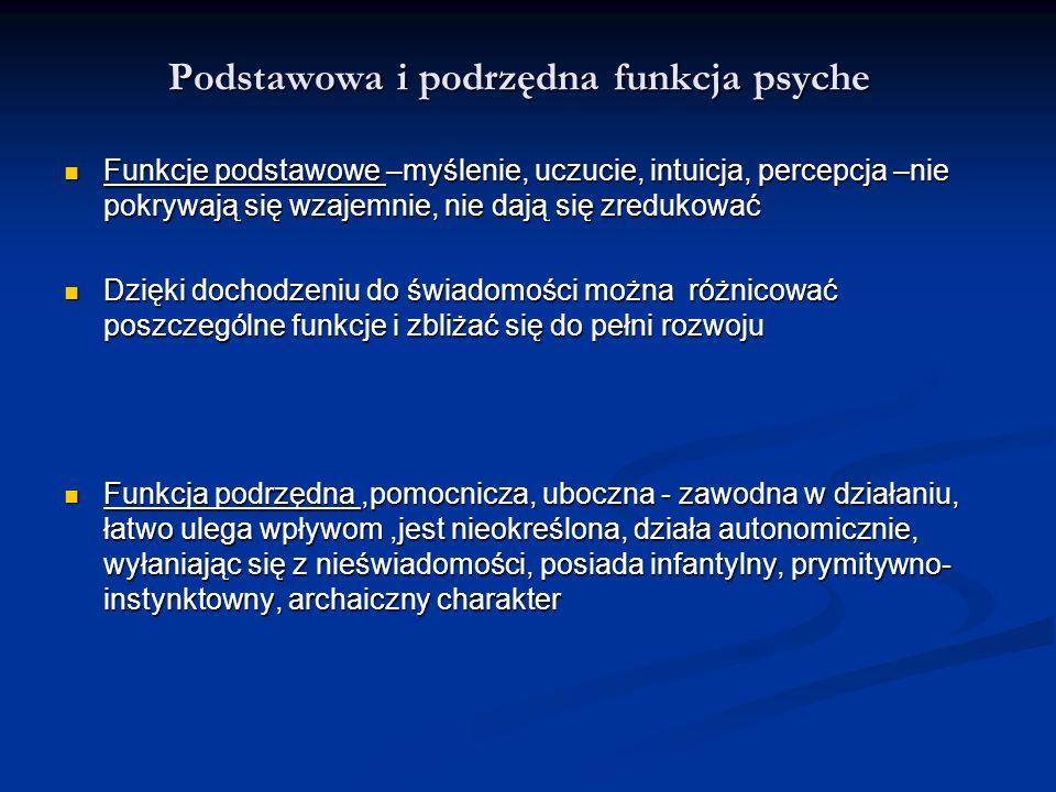 Podstawowa i podrzędna funkcja psyche