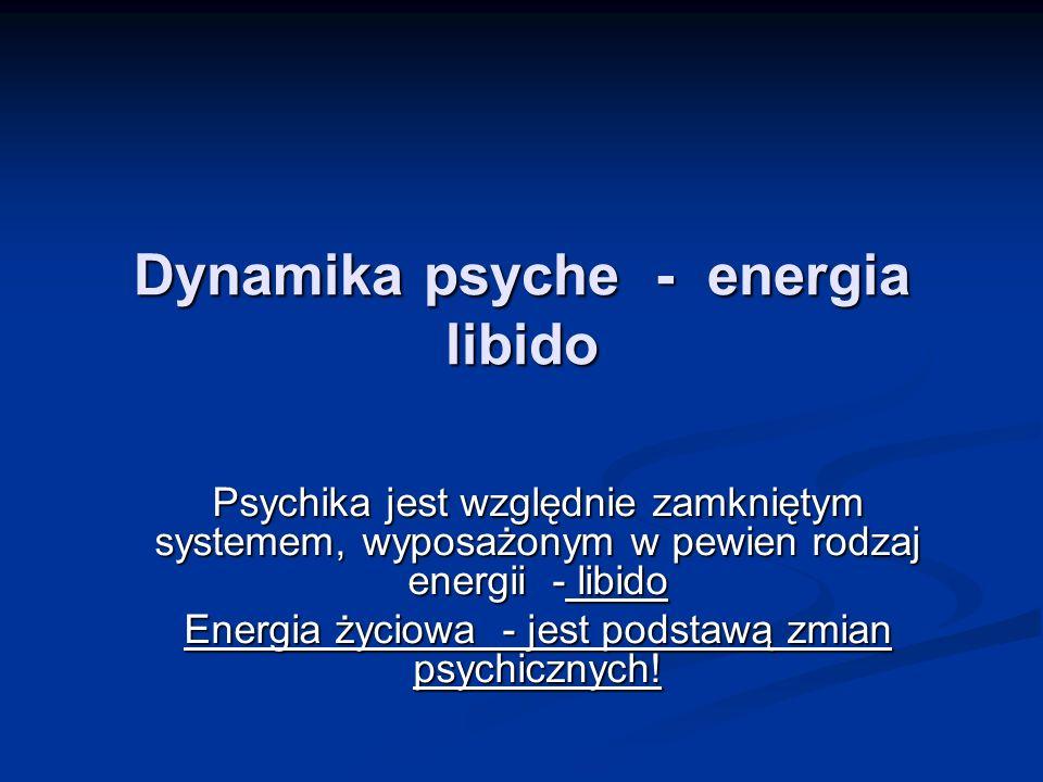 Dynamika psyche - energia libido