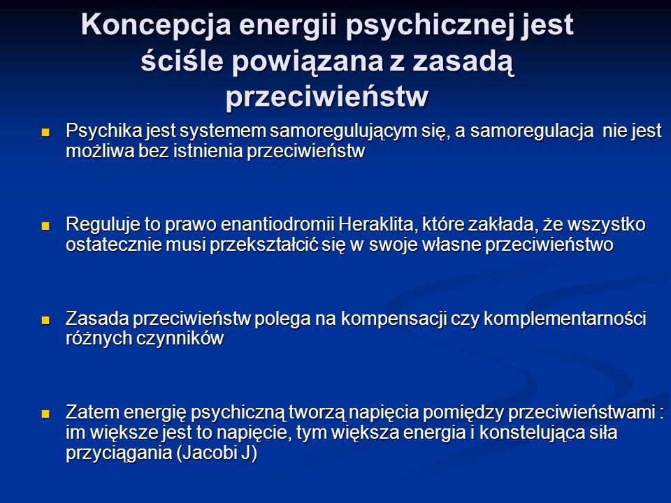 Koncepcja energii psychicznej jest ściśle powiązana z zasadą przeciwieństw