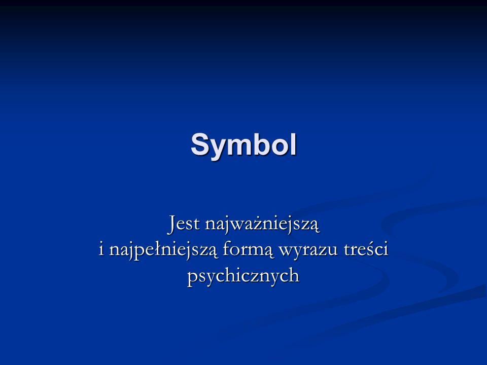 Jest najważniejszą i najpełniejszą formą wyrazu treści psychicznych