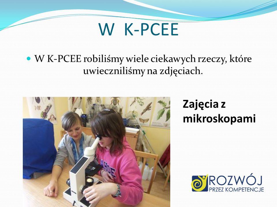 W K-PCEE Zajęcia z mikroskopami
