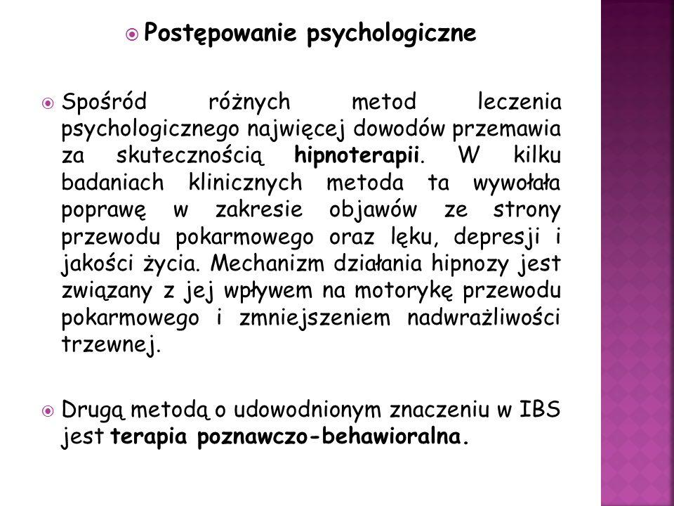 Postępowanie psychologiczne