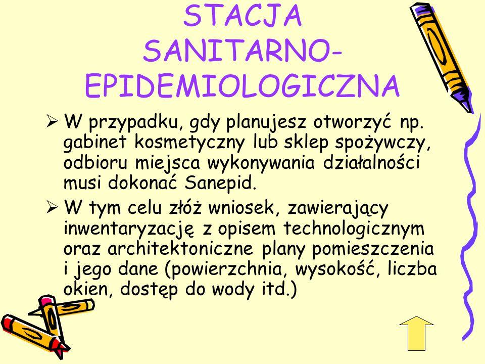 STACJA SANITARNO-EPIDEMIOLOGICZNA